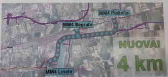 Trasporti e possibile prolungamento a Segrate e Pioltello della MM4