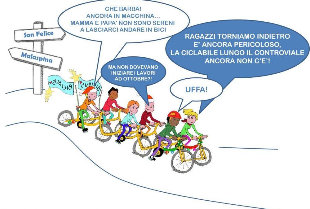 Ciclo-pedonale Malaspina-San Felice: QUANDO?